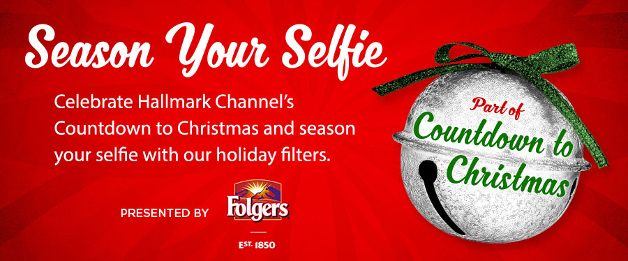 Season Your Selfie | Countdown to Christmas | Hallmark Channel