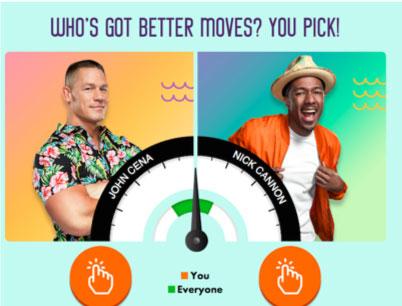Screenshot of Kids Choice Awards App