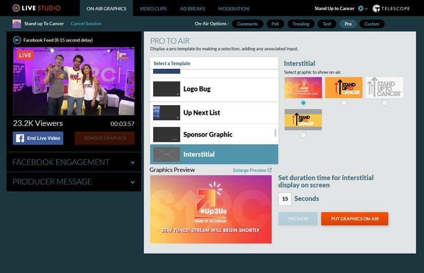 Live Studio Platform